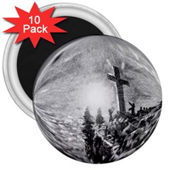 The Apple Of God s Eye Is Jesus - Ave Hurley - ArtRave - 3  Magnet (10 pack)