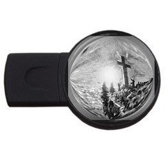 The Apple Of God s Eye Is Jesus - Ave Hurley - ArtRave - USB Flash Drive Round (4 GB)