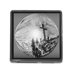 The Apple Of God s Eye Is Jesus - Ave Hurley - ArtRave - Memory Card Reader with Storage (Square)