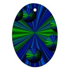 Magic Balls Oval Ornament