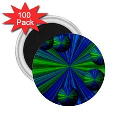 Magic Balls 2.25  Button Magnet (100 pack)