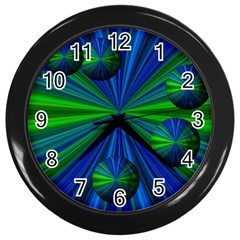 Magic Balls Wall Clock (Black)
