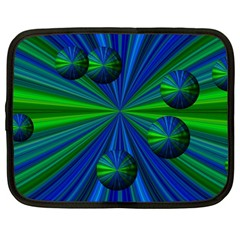 Magic Balls Netbook Sleeve (Large)