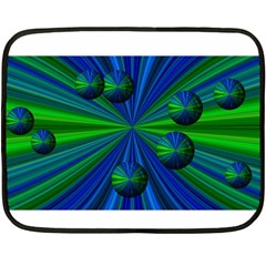 Magic Balls Mini Fleece Blanket (Two Sided)