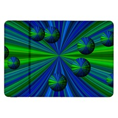 Magic Balls Samsung Galaxy Tab 8.9  P7300 Flip Case