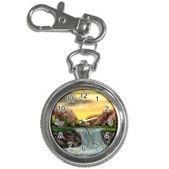 Brentons Waterfall - Ave Hurley - ArtRave - Key Chain & Watch