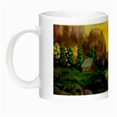 Brentons Waterfall - Ave Hurley - ArtRave - Glow in the Dark Mug