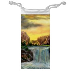 Brentons Waterfall - Ave Hurley - ArtRave - Jewelry Bag