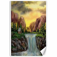 Brentons Waterfall - Ave Hurley - ArtRave - Canvas 20  x 30  (Unframed)