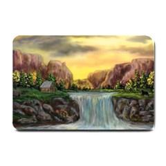 Brentons Waterfall - Ave Hurley - ArtRave - Small Door Mat