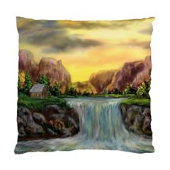 Brentons Waterfall - Ave Hurley - ArtRave - Cushion Case (Single Sided)