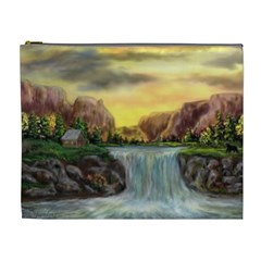 Brentons Waterfall   Ave Hurley   Artrave   Cosmetic Bag (xl)