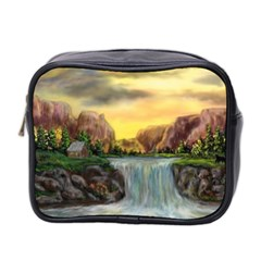 Brentons Waterfall   Ave Hurley   Artrave   Mini Travel Toiletry Bag (two Sides)