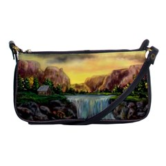 Brentons Waterfall - Ave Hurley - ArtRave - Evening Bag