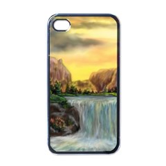 Brentons Waterfall - Ave Hurley - ArtRave - Apple iPhone 4 Case (Black)