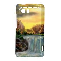 Brentons Waterfall - Ave Hurley - ArtRave - HTC Vivid / Raider 4G Hardshell Case