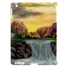 Brentons Waterfall - Ave Hurley - ArtRave - Apple iPad 3/4 Hardshell Case (Compatible with Smart Cover)