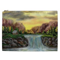 Brentons Waterfall - Ave Hurley - ArtRave - Cosmetic Bag (XXL)