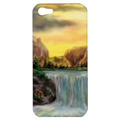Brentons Waterfall - Ave Hurley - ArtRave - Apple iPhone 5 Hardshell Case
