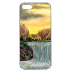 Brentons Waterfall - Ave Hurley - ArtRave - Apple Seamless iPhone 5 Case (Clear)