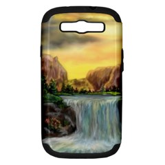 Brentons Waterfall - Ave Hurley - ArtRave - Samsung Galaxy S III Hardshell Case (PC+Silicone)
