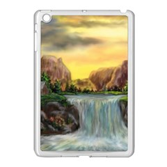 Brentons Waterfall - Ave Hurley - ArtRave - Apple iPad Mini Case (White)