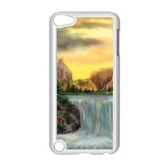 Brentons Waterfall - Ave Hurley - ArtRave - Apple iPod Touch 5 Case (White)