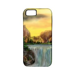 Brentons Waterfall - Ave Hurley - ArtRave - Apple iPhone 5 Classic Hardshell Case (PC+Silicone)