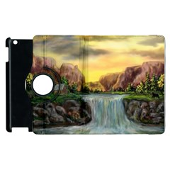 Brentons Waterfall - Ave Hurley - ArtRave - Apple iPad 3/4 Flip 360 Case