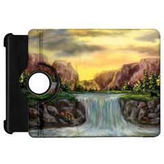 Brentons Waterfall - Ave Hurley - ArtRave - Kindle Fire HD 7  (1st Gen) Flip 360 Case