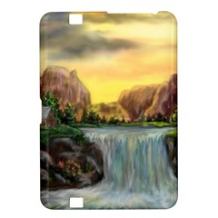 Brentons Waterfall - Ave Hurley - ArtRave - Kindle Fire HD 8.9  Hardshell Case