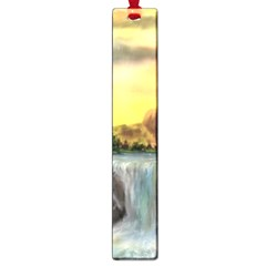 Brentons Waterfall   Ave Hurley   Artrave   Large Bookmark
