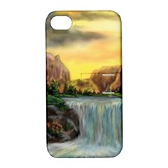 Brentons Waterfall   Ave Hurley   Artrave   Apple Iphone 4/4s Hardshell Case With Stand