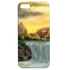Brentons Waterfall   Ave Hurley   Artrave   Apple Iphone 5 Hardshell Case With Stand