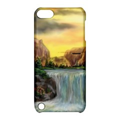 Brentons Waterfall   Ave Hurley   Artrave   Apple Ipod Touch 5 Hardshell Case With Stand