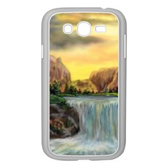 Brentons Waterfall - Ave Hurley - ArtRave - Samsung Galaxy Grand DUOS I9082 Case (White)