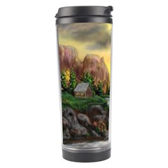Brentons Waterfall - Ave Hurley - ArtRave - Travel Tumbler