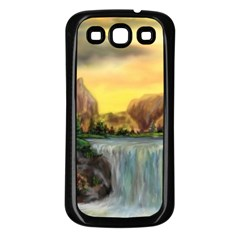 Brentons Waterfall - Ave Hurley - ArtRave - Samsung Galaxy S3 Back Case (Black)