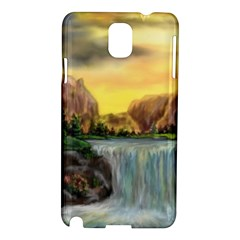 Brentons Waterfall - Ave Hurley - ArtRave - Samsung Galaxy Note 3 N9005 Hardshell Case