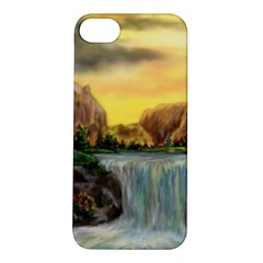 Brentons Waterfall   Ave Hurley   Artrave   Apple Iphone 5s Hardshell Case