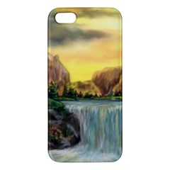 Brentons Waterfall   Ave Hurley   Artrave   Iphone 5s Premium Hardshell Case