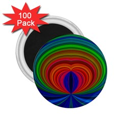 Design 2 25  Button Magnet (100 Pack)