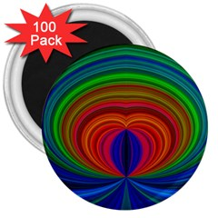 Design 3  Button Magnet (100 pack)