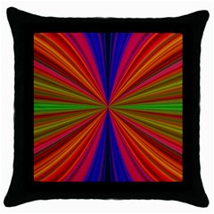 Design Black Throw Pillow Case