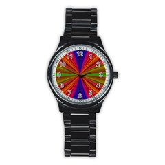 Design Sport Metal Watch (Black)