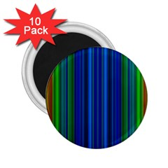 Strips 2.25  Button Magnet (10 pack)