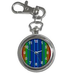 Strips Key Chain & Watch