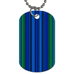 Strips Dog Tag (One Sided)