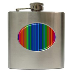 Strips Hip Flask