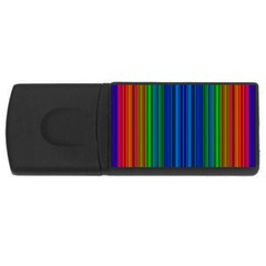 Strips 2GB USB Flash Drive (Rectangle)